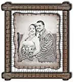 2nd Anniversary Gift Ideas For Husband Wife Second Wedding Cotton Two Year Anniversary Gift For Her 2 Year Marriage Present For Him - RARE Hand Drawn Pyrography Technique