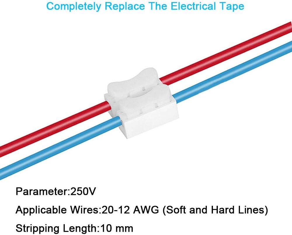 tipo Resorte Palanca Reutilizable Conectores de Cable Abrazadera 32A Wago Comercio Pack 174 un