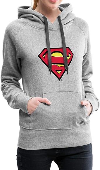 DC Comics Superman Logo Classique Sweat Shirt à Capuche