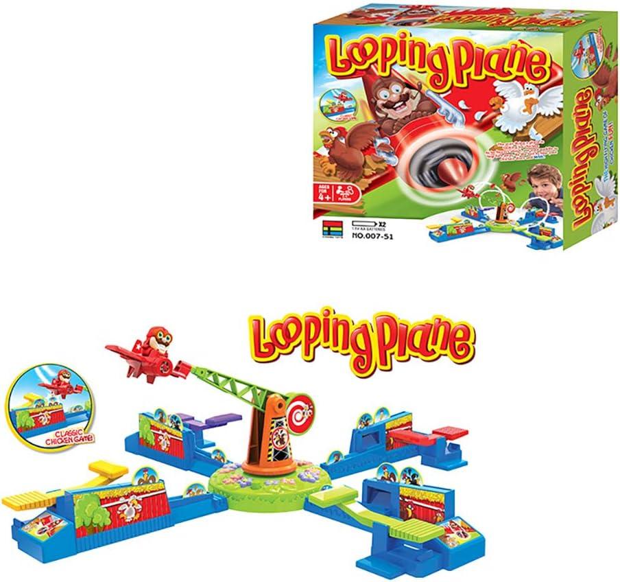 ANRUX Looping Plane, juego de mesa familiar interactivo Flying The ...