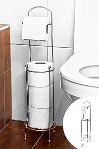 Wc Tuvalet Kağıtlığı Yedekli Metal 365114
