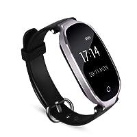 AGPTEK Bracelet Intelligent Femme W03 Tracker d'Activité avec Cardiofréquencemètre Podomètre Calories Sommeil - Bluetooth 4.0 Etanche IPX7 - Montre Connectée Compatible avec iOS 8.0 ou Android 4.3