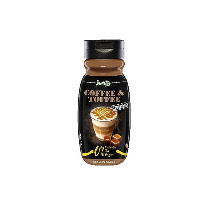 Sirope Servivita - 320 ml - Sabor Café Toffee