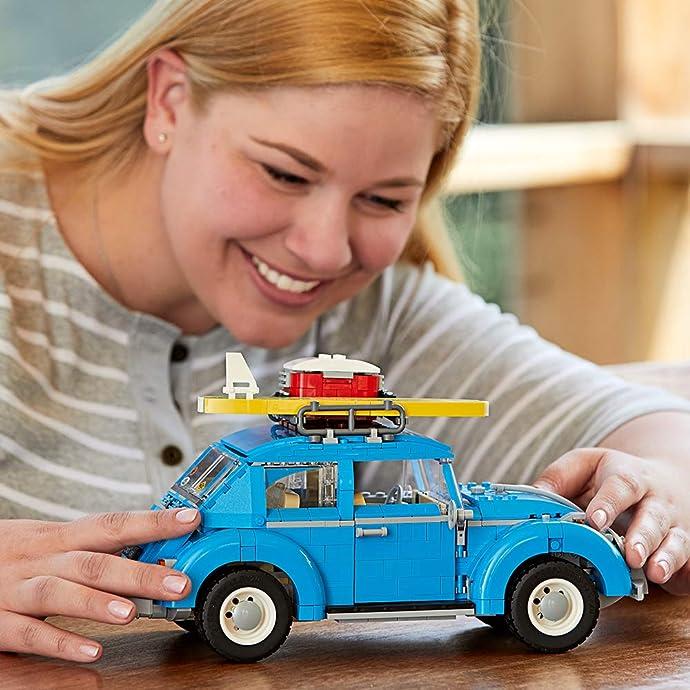 LEGO 乐高 10252 甲壳虫汽车 积木玩具 7.5折$74.99 海淘转运到手约¥618