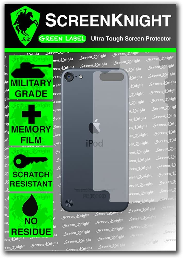 ScreenKnight/® Screen Protector for Apple iPod Touch 5th Generation Military Shield Full Protection