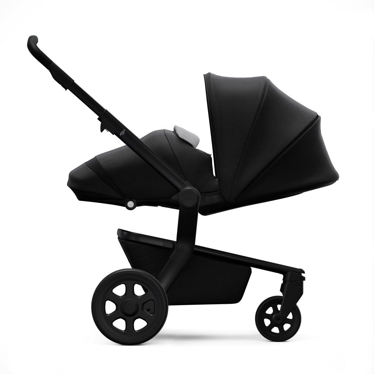 Joolz Hub Stroller Hippo Grey Baby Nero 3 Cocoon