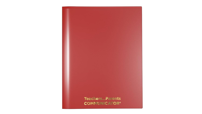 Nicky' s Communicator Folder (Pack of 3), Flexible Plastic Folder for Letter Size Papers (Yellow) Rochester 100 Inc. Communicator-K