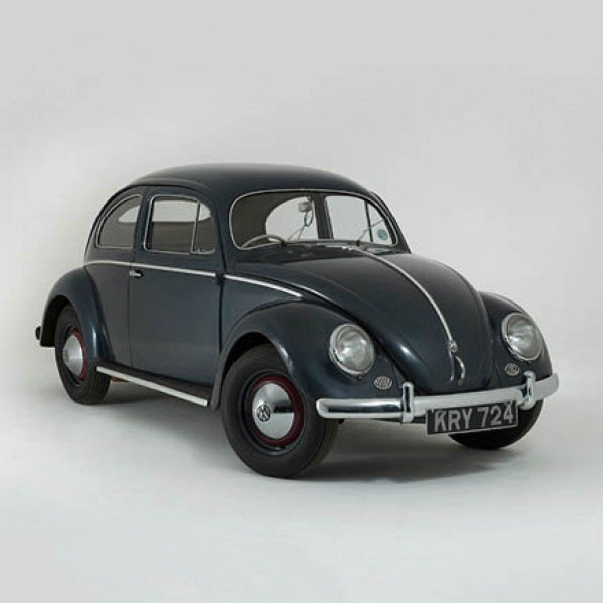 VW Volkswagen Escarabajo coche clásico tarjeta de felicitación con motor sonido interior Really Wild Cards RWUK1013