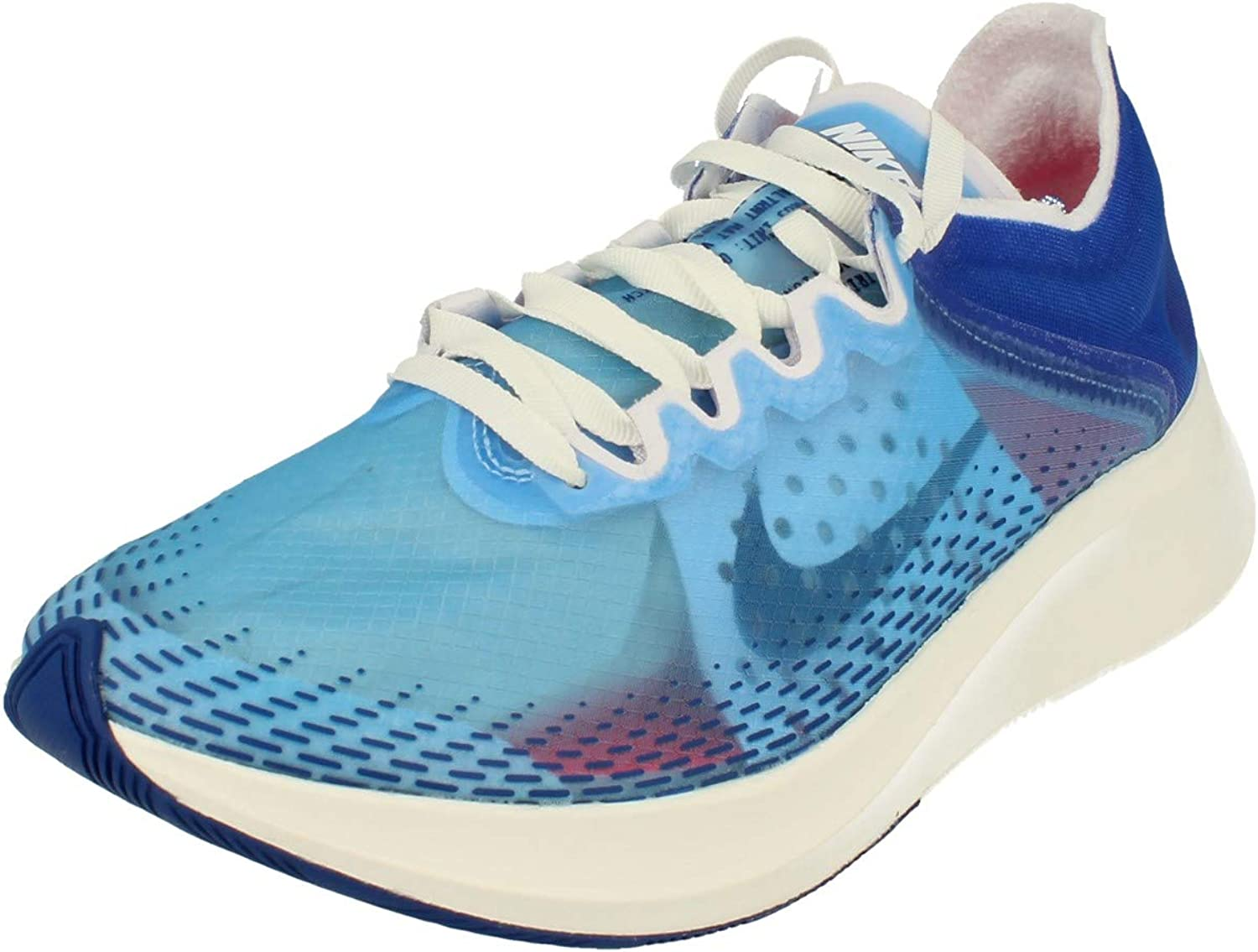 Nike Mujeres Zoom Fly SP Fast Running Trainers BV0389 Sneakers Zapatos (UK 6 US 8.5 EU 40, Indigo Fog 446): Amazon.es: Zapatos y complementos