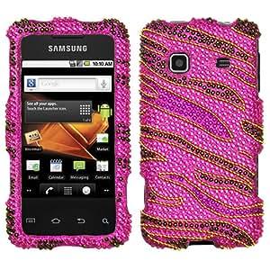 Rocker Diamante Phone Protector Cover for SAMSUNG M820 (Galaxy Prevail)