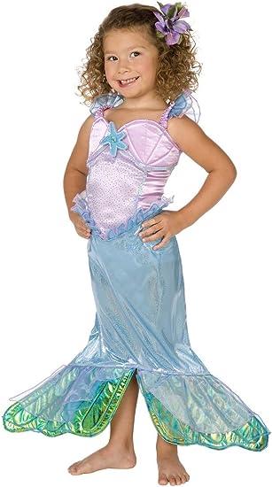 Disfraz de sirena para niña 8-10 años (146 cm): Amazon.es ...