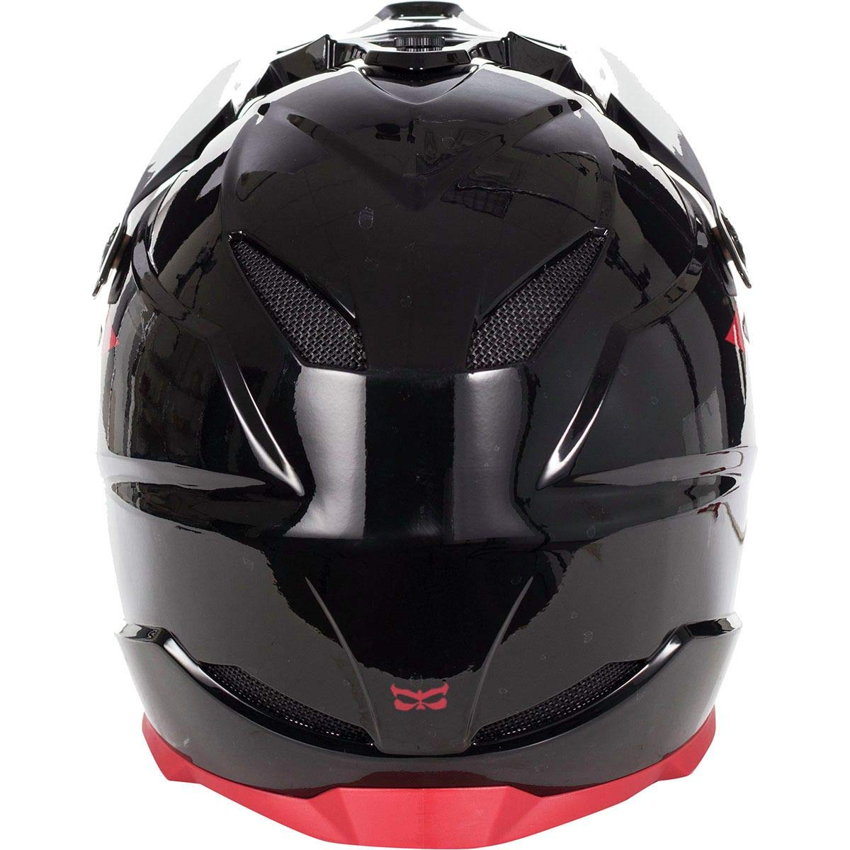 Kali Protectives Zoka - Casco Integral, Large, GLS Black/Red ...