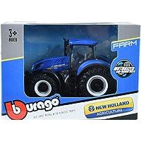 Burago-Tractor New Holland Modelo T 7.315 motorizado (18-31612)