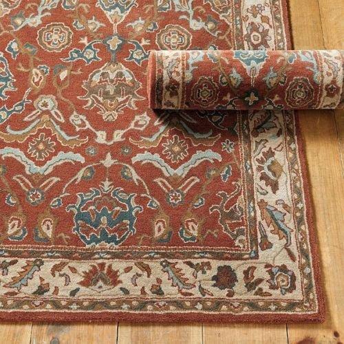 Ballard Designs 8 X 10 Kenzie Handmade Persian Style Rugs   Carpet