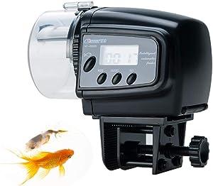 SONGWAY Automatic Fish Feeder Aquarium Tank Auto Fish Timed Feeder/Adjustable Fish Food Dispenser/Auto Fish Food Timer Feeder for Vacation Weekend
