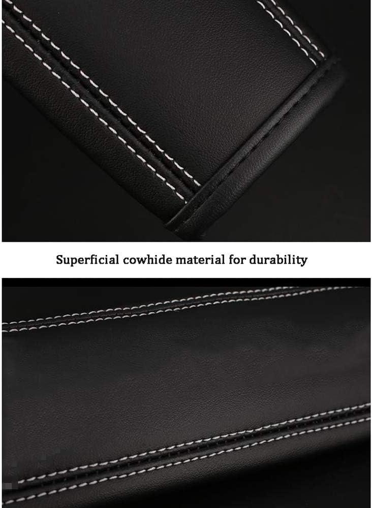 YYD Si/ège Auto /épaule Ceinture Sangle Tapis Couvre Coussin Surface Confortable Peau de Vache Mat/ériel pour la durabilit/é,P/_eugeot