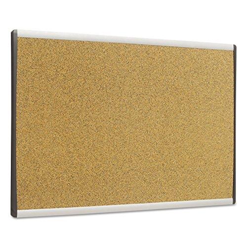 Quartet Cubicle Arc Frame Colored Cork Board 14 x