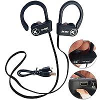 Fone Ouvido Bluetooth Microfone Esporte Corrida Preto