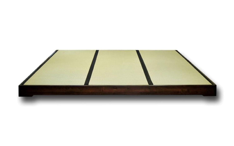 Tatamirahmen Macao, Wengué, 180 x 200 cm. günstig online kaufen