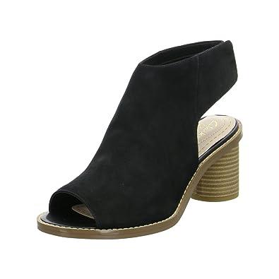 578721f7ae83 Clarks Women s Glacier Charm Open Toe Sandals black Size  UK 9 ...