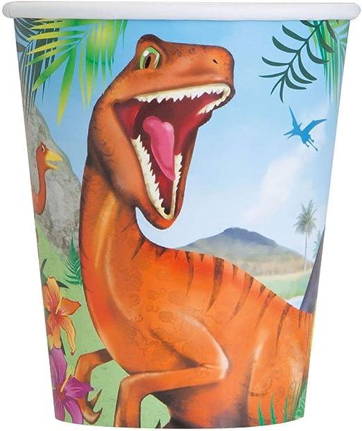 Amazon.com: Dinosaurio, Vasos para fiestas: Kitchen & Dining