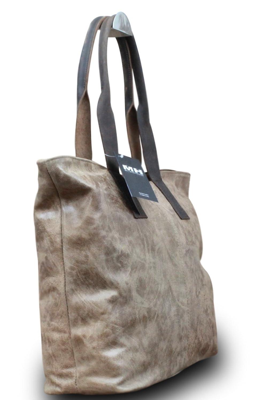 Made in Italy Luxus Damen Schultertasche Shopper Donna Bella