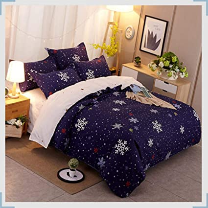 Duvet Cover And Pillowcases Quilt Cover Bedding Set Single Double King All Sizes Durable In Use Home & Garden
