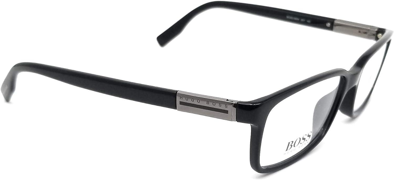 HUGO BOSS Eyeglasses 0604 0807 Black 54MM