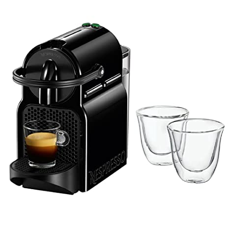 Amazon.com: Nespresso Inissia cafetera de espresso, Negro ...