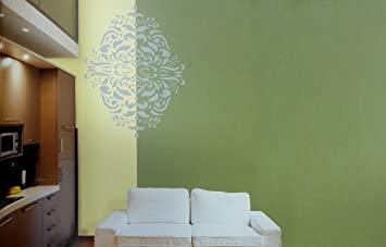 Asian Paints Royale Play Wall Fashion Monarchy Stencil Wall
