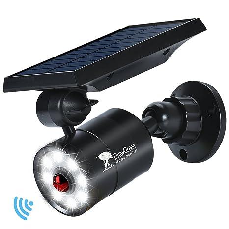 Lampe Solaire Détection de Mouvement Exterieur Jardin 8-Watts LED ...