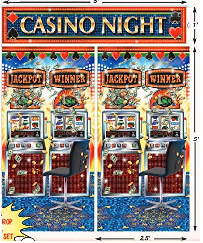 Casino/Game Night Party Decoration Set