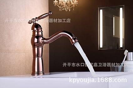 Sadasd il lavandino del bagno rubinetto di rame pieno europeo dei