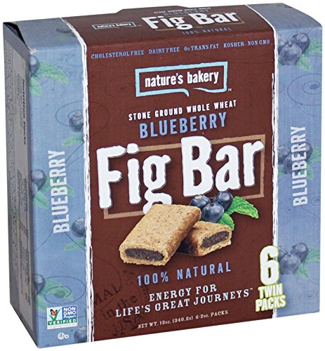 (Nature's Bakery Whole Wheat Fig Bars - Blueberry - 6 ct)