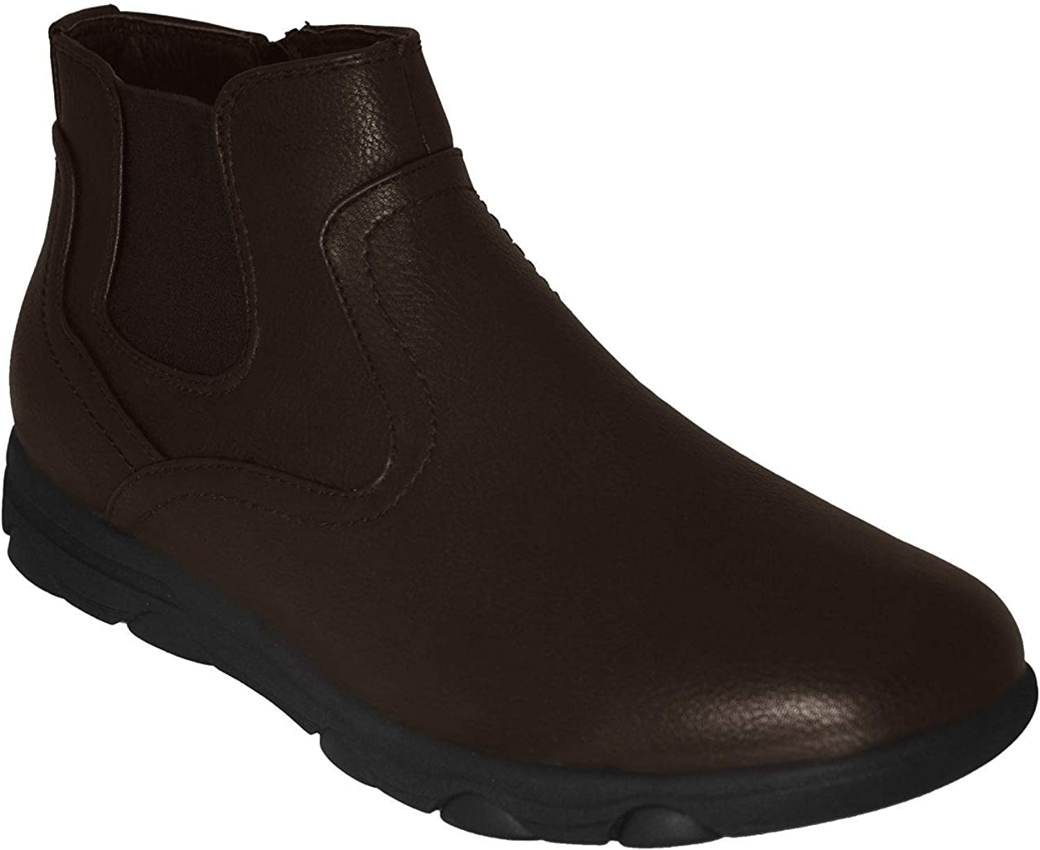 Gelato Mens 8558 Non-Slip Professional Comfort Work Boot Shoe with Memory Insole