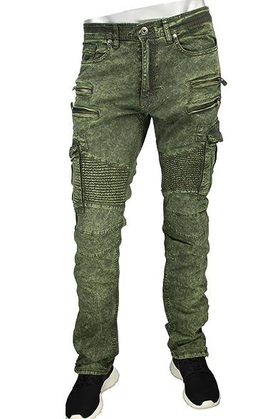 3e394326d9 Jordan Craig Legacy Edition Aaron Biker Cargo Pants (30x32, Army Green)