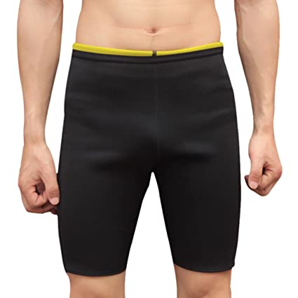 79d0cf6f6d5bd Panegy Neoprene Sauna Shorts Fat Burning Compression Workout Pants Slimming  Sauna Suit Body Shaper for Men
