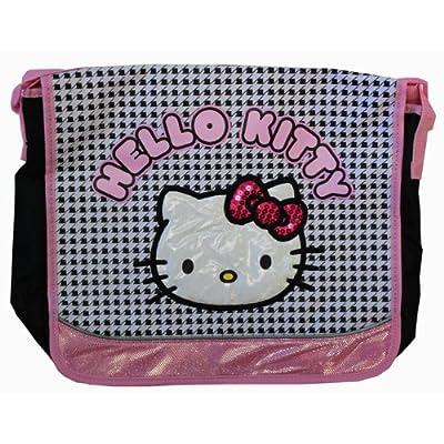 2aa6c2355b low-cost Sanrio Hello kitty Friends Messenger Bag - Checkered Print Large  Bag