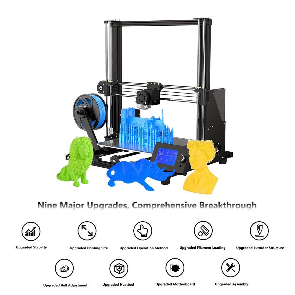 Anet A2 A6 A8 Upgraded High Precision Desktop 3D Printer i3 DIY Large Print Size