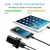 Cllena Dual USB Port Charger Socket Quick Charge