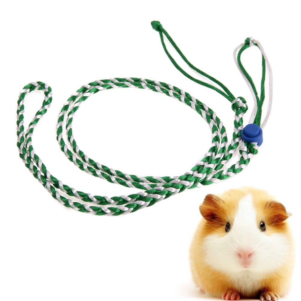 Macrorunuk Hamster Jaula Correa Ajustable Mascota Rat Ratón Arnés ...