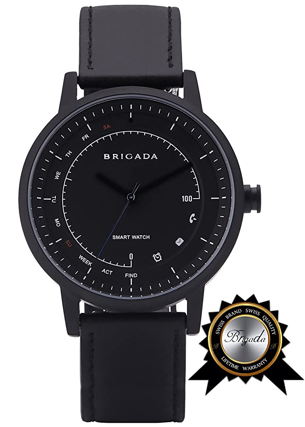 Amazon.com: BRIGADA No-Need-Charge Smart Watch for Men ...