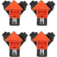 Graden Hoek Klem 4 Stuks 90 ° Haakse Frame Hoek Klem Clip Fixer Liniaal Klem Houtbewerking Handgereedschap