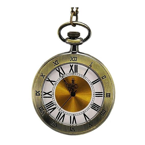 Anna & Joe Cálido Moda retr ¨ ° antiguos grafici de Lady Reloj de bolsillo al