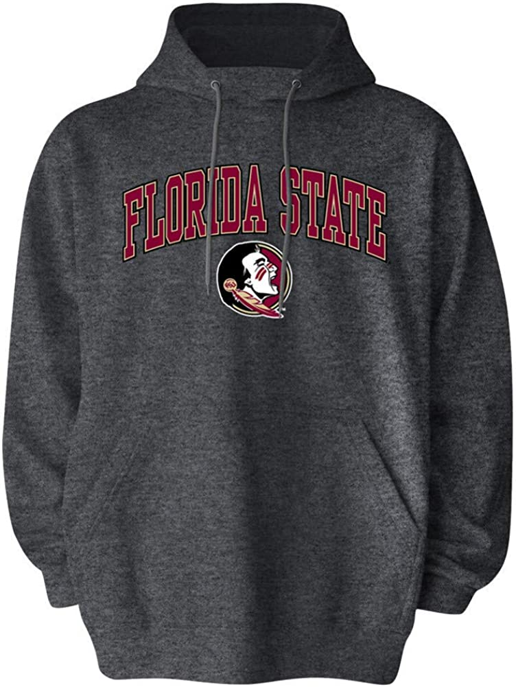 Elite Fan Shop NCAA Mens Apparel Plus Size Hooded Sweatshirt Charcoal