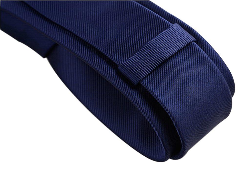 AINOW - Corbata con textura de rayas, 6 cm, varios colores - Azul ...