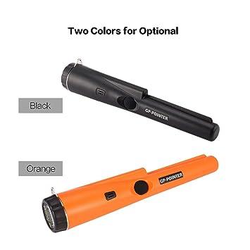 Dailyinshop GP Pointer Handheld Mini Pro Detector de Metales de precisión Buscador de Tesoros de Monedas de Oro de Plata Búsqueda de vibración (Color: ...