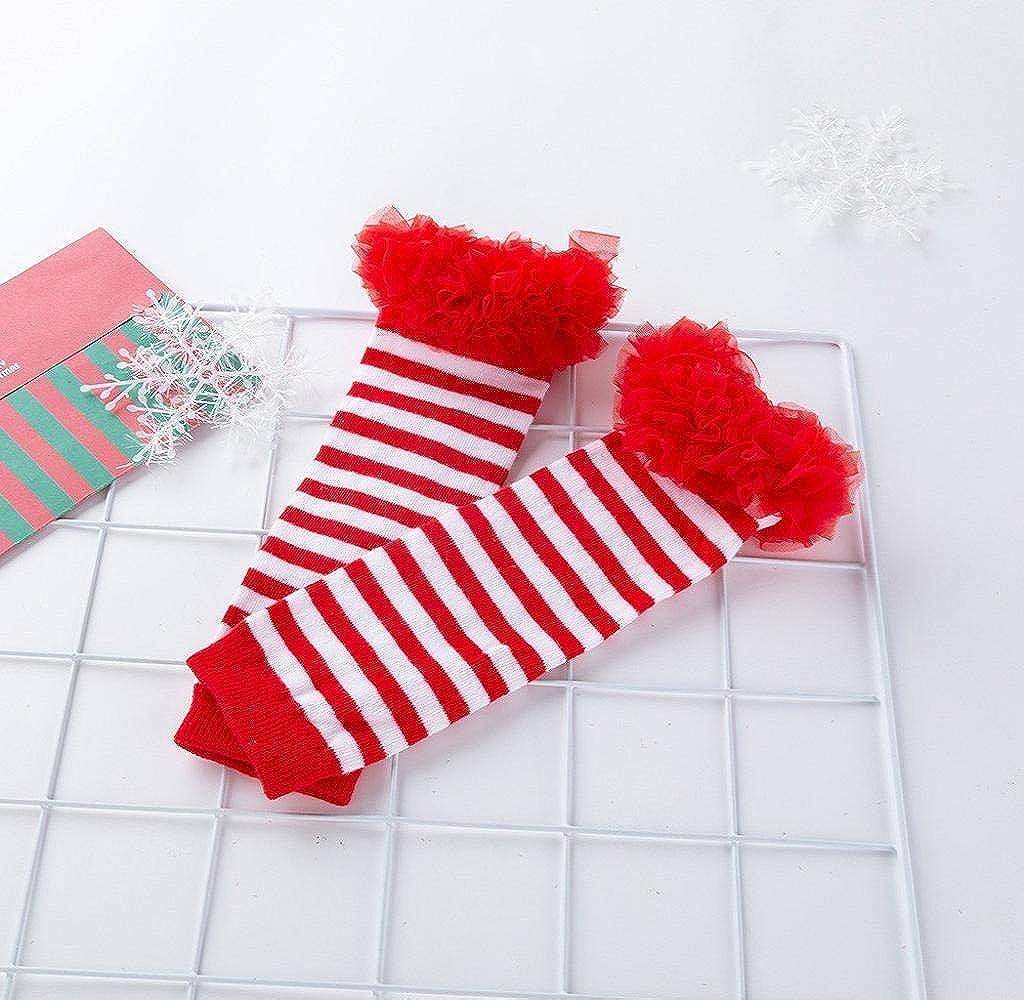 Fascia Jimmackey Beb/è Bambina 4pcs Natale Costume Completini Set Partito Vestiti Neonato Battesimo Babbo Natale Abbigliamento Natalizio Tutina Abiti Scarpa Leggings Caldo