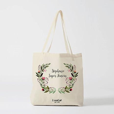 Amazon.com: Tote Bag Personalized Super Light Fabric Tote ...