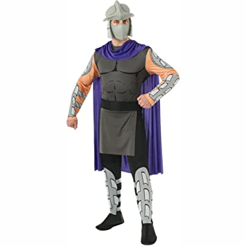 MyPartyShirt Shredder Teenage Mutant Ninja Turtles Adult Costume -Adult XL (Plus Size)  sc 1 st  Amazon UK & Shredder Adult Costume Teenage Mutant Ninja Turtles Villain Mask ...